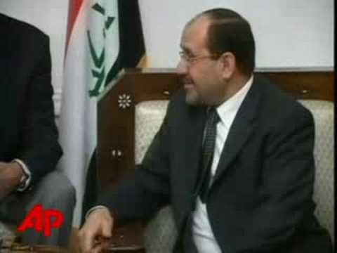 Obama Meets With Iraqi PM in Baghdad