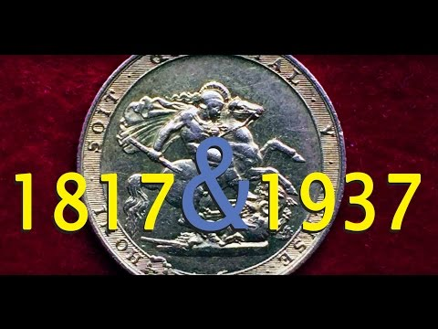 1817 and 1937 Sovereigns arrive from the Royal Mint! Yes.. f