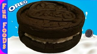 How to Make a Giant Oreo Cookie  Homemade Giant Oreo Cookie Recipe
