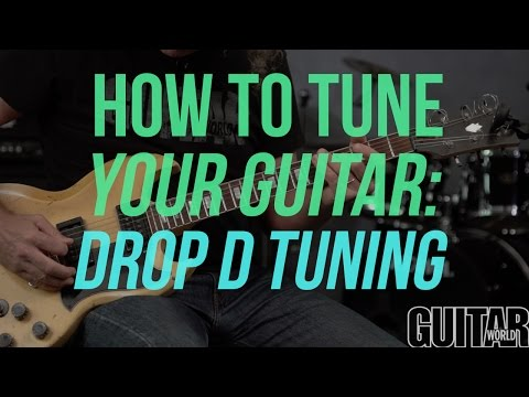 How to Tune Your Guitar to Drop D - Guitar Basics