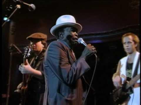 "John Lee Hooker and Carlos Santana Perform ""The Healer"", 1990"