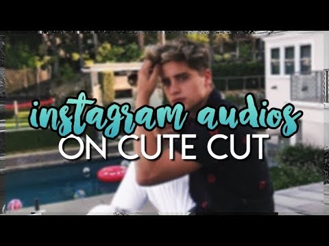 how to use instagram audios on cute cut — android