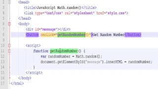 JavaScript Math.random(), Math.floor() and Math.ceil