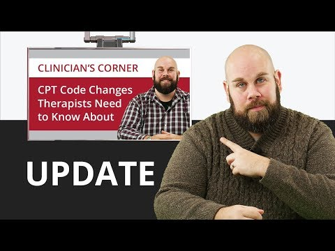Update to CPT Code Changes for 2019
