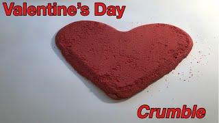ASMR ❤️ Valentine's Day ❤️ Crumble ~ Epsom Salt & Sand