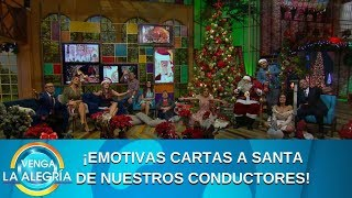 Conductores leen su carta a Santa. | Programa del 24 de diciembre de 2019 PARTE 2 | Venga La Alegría