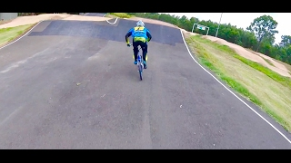 Checking out a new BMX Track