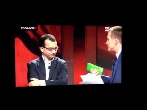 Essere #matteorenzi: Claudio Giunta a Ballarò