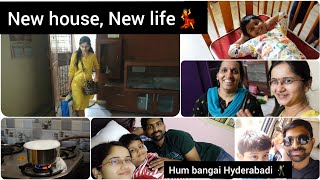 Life update Part 2 | Shifting Day | New house | Ware house details #Voiceofvasapitta #Hyderabad