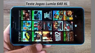 Teste 15 Jogos Microsoft Lumia 640 XL - Top Games for Windows Phone 8.1