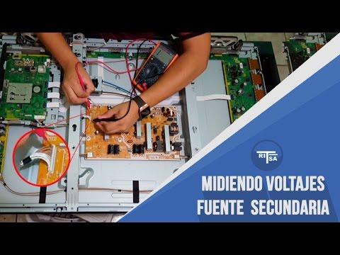 Reparacion tv plasma - comprobacion de fuente secundaria