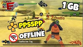 Naruto Shippuden Kizuna Drive for Android - PPSSPP GAMES