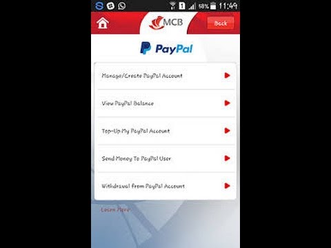 How to Transfer Money to Paypal via JUICE (MCB) Mauritius