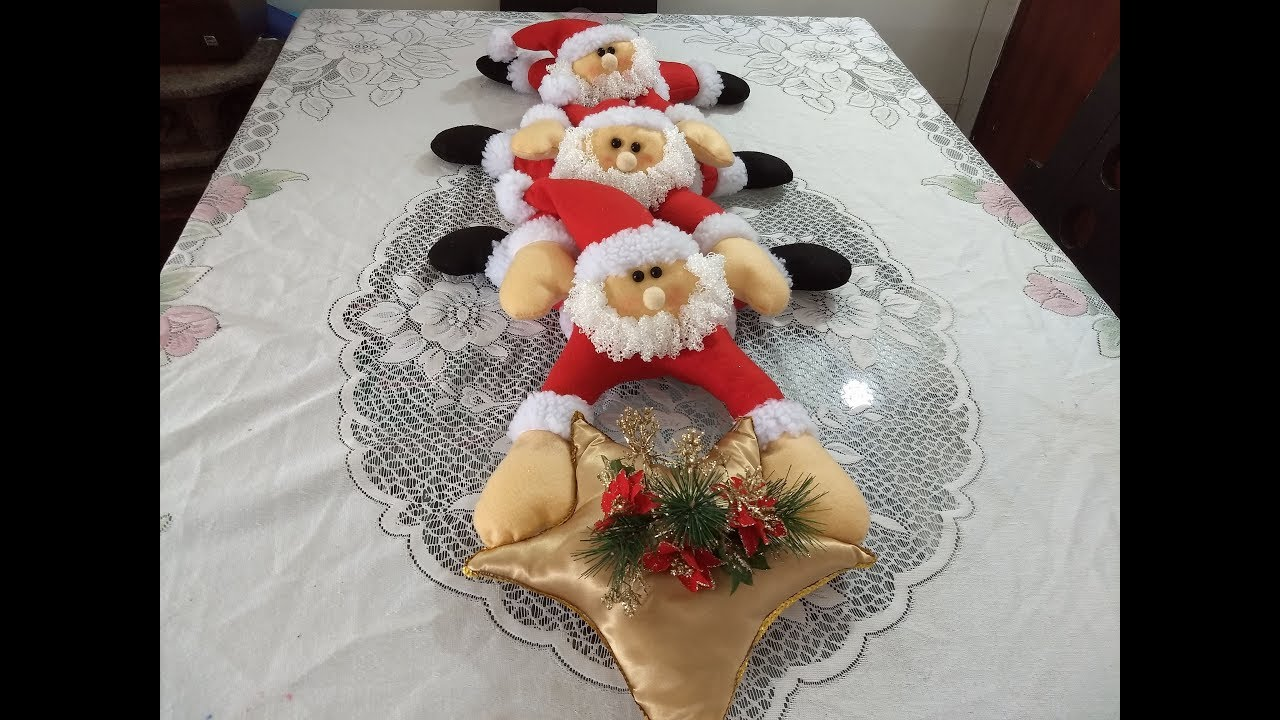 Centro de mesa navide o pap no l youtube - Centro de mesa navideno ...