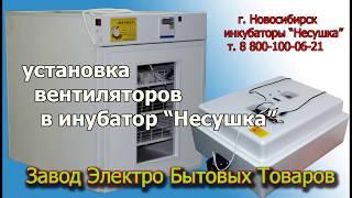 видео Бытовой инкубатор-Несушка 77 яиц, Механическая