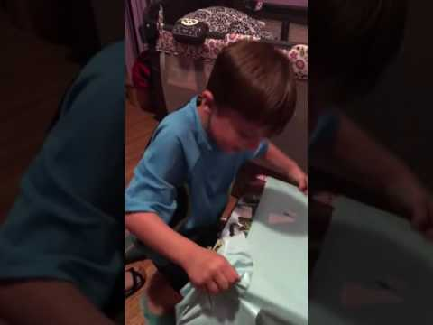 Young Boy Has Best Reaction To His Birthday Gift