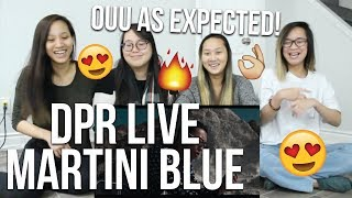 MV REACTION   DPR LIVE - Martini Blue (OFFICIAL M/V)