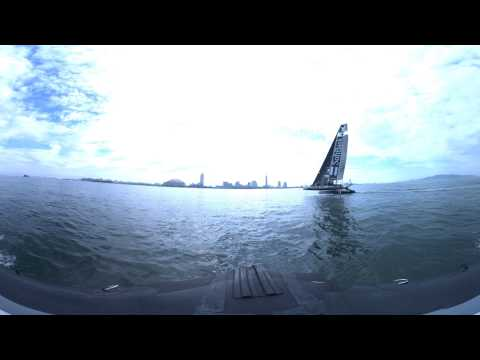 America's Cup World Series Practice Race in 360 Video