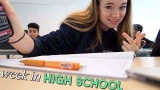 A Week in my Life in High School | Misshannahbeauty
