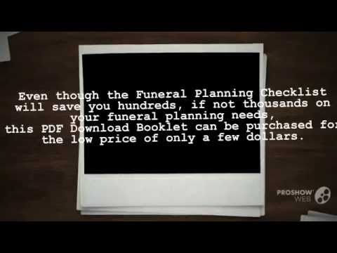 how to start planning a funeral and why you need a planning a