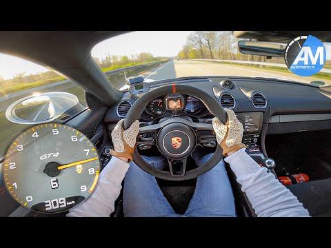 Porsche 718 GT4 (4.0) - 0-311 Km/h Acceleration🏁