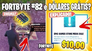 FORTNITE-$10 FREE, FORTBYTE LOCATION #82 and UPDATE 9.01