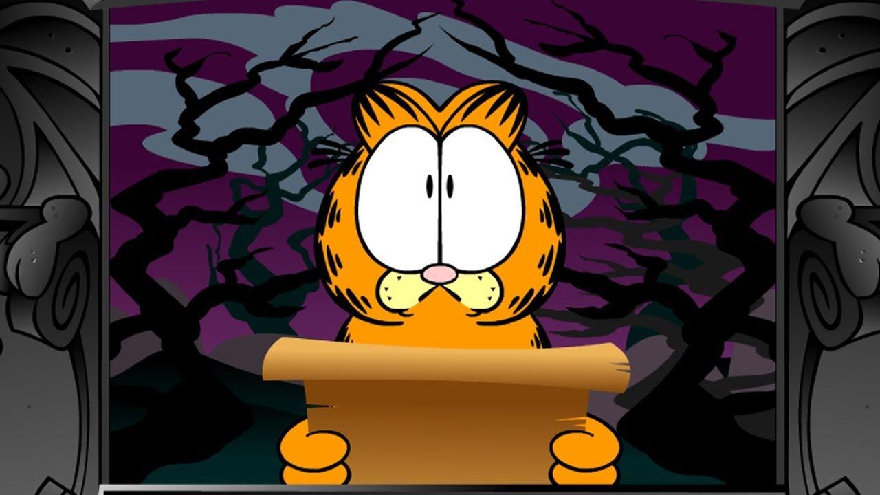 Garfield's Scary Scavenger Hunt 2 Full Game Speedrun in 6:50 - YouTube