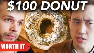 Download $1 Donut Vs. $100 Donut Mp3 and Videos