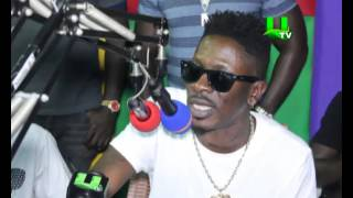 Shatta Wale accuses Sarkodie of snubbing fan in traffic