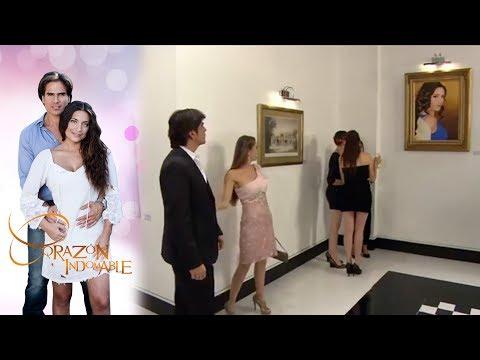 ¡Octavio se roba el cuadro de Alfonso!   Corazón Indomable - Televisa