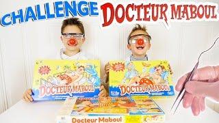 CHALLENGE DOCTEUR MABOUL 😷 Swan VS Néo ! - Jeu de société