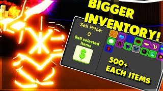 *NEW* BIGGER INVENTORY/QUICK SELL, BUYING NEW ARMOR AND WEP! (ROBLOX DUNGEON QUEST)