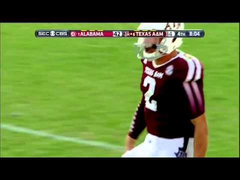 Texas A&M - Manziel to Evans for 95 Yd TD