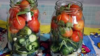 Консервирование Ассорти из овощей на зиму