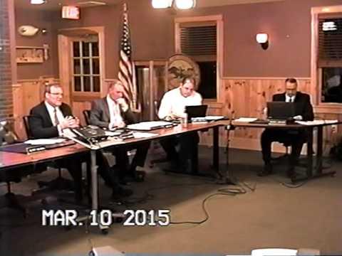 Tewksbury, MA Board of Selectmen Meeting: March 10, 2015: Part 2 of 3