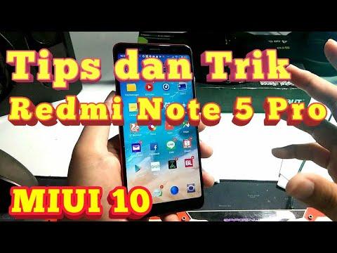 Tips Dan Trik Redmi Note 5 Pro MIUI 10 - Indonesia HD