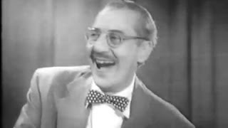 Video You Bet Your Life #56-28 Groucho laughs! Prince Monolulu returns ('Roof', Apr 4, 1957) download MP3, 3GP, MP4, WEBM, AVI, FLV November 2017