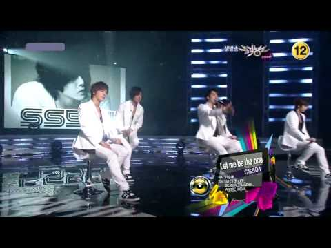 [HD] 2010.06.04 SS501 - Let Me Be The One @ Music Bank (Comeback Stage)