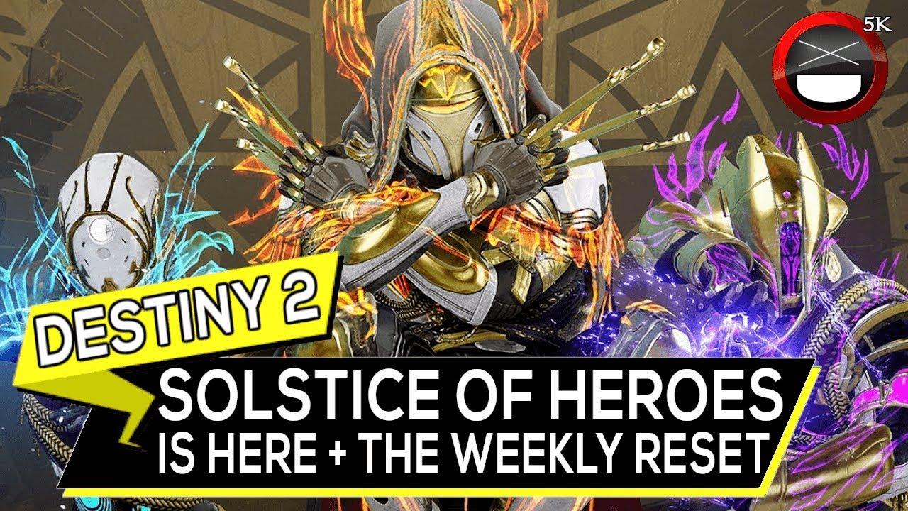 Destiny 2 Weekly Reset - Solstice of Heroes Gear + Quest Start!