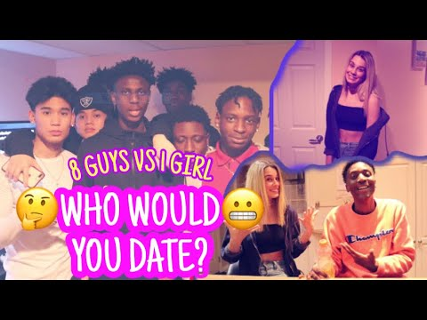 8 vs. 1 | who would you date ? ( without seeing them ) part 2 . from YouTube · Duration:  16 minutes 32 seconds