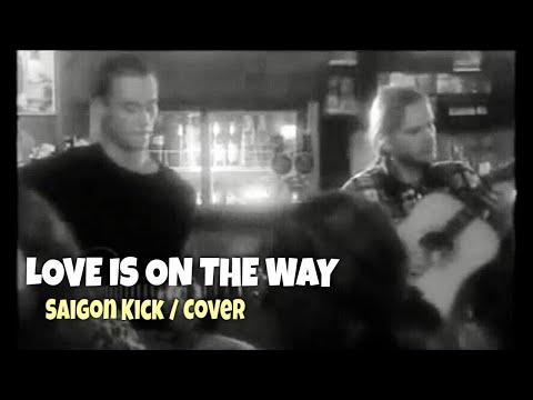 Saigon Kick  Love is on the way   acoustic    Silent Duo Peter Luha