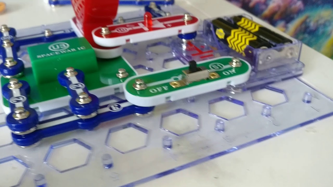 Snap Circuits Extreme 750 Review By Oorjit Borra Youtube Circuit