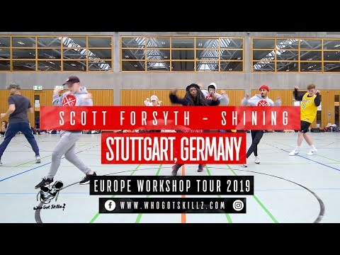 SHINING I Scott Forsyth Choreography I incl. Selected Groups - STUTTGART, GERMANY