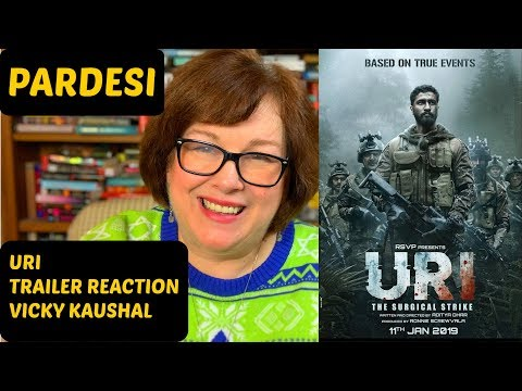 Uri: The Surgical Strike Trailer Reaction | Vicky Kaushal