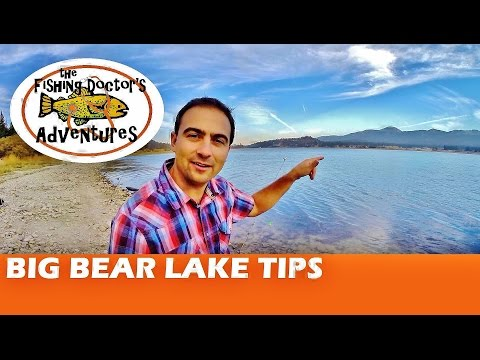 How To Fish Big Bear Lake Rainbow Trout Tactics