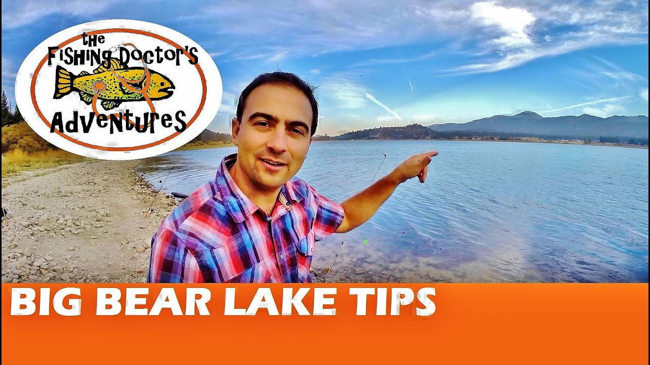 How to fish big bear lake rainbow trout tactics youtube for Big fish lake