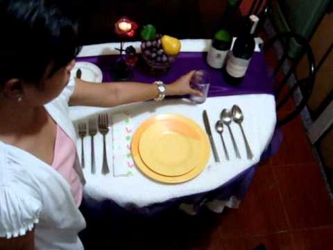 Styles of Food Service Presents: Table Setting - YouTube