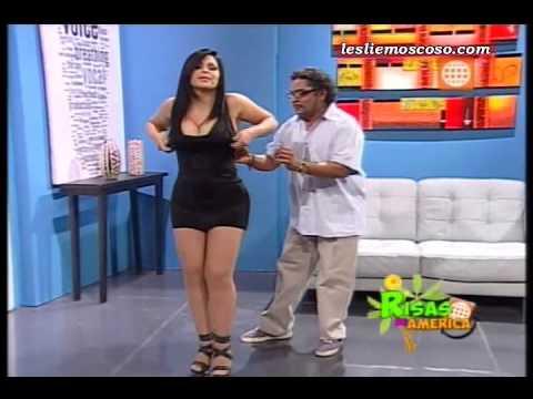 """Leslie Moscoso en """"El Doctor Marrulo"""" de """"Risas de America"""" [16-03-2013]"""