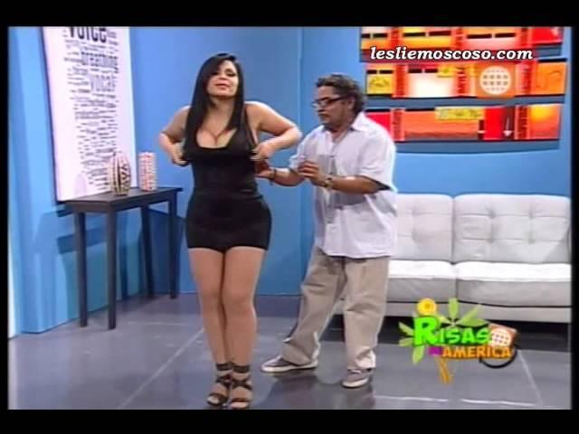 Leslie Moscoso en El Doctor Marrulo de Risas de America [16-03-2013]