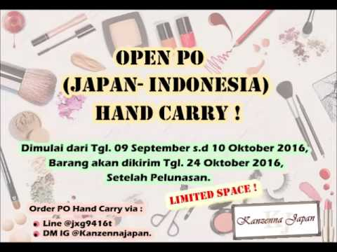 OPEN PO HAND CARRY DIRECT FROM TOKYO JAPAN